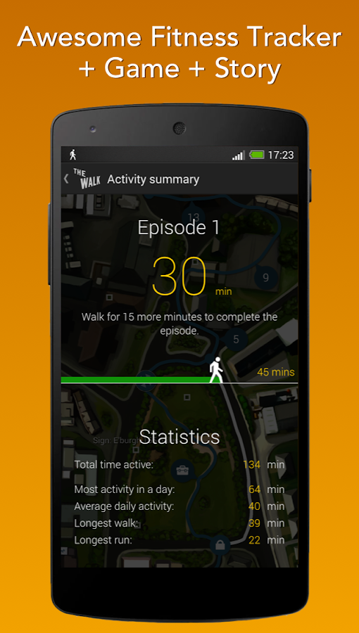 The Walk: Fitness Tracker Game Screenshot 0