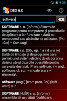 Screenshot of DEX pentru Android