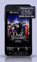Screenshot of Dark Shadows Mobile Scroll