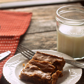 Toffee Brown Butter Blondies