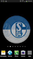 Screenshot of Ball 3D FC Schalke 04 LWP