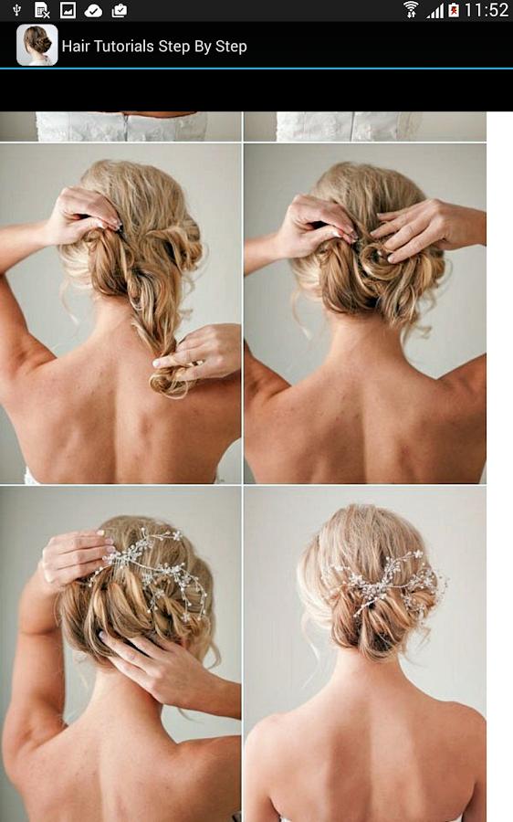 Прическа на свадьбу своими руками на средние волосы видео