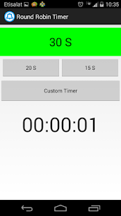 Round Robin Timer - screenshot