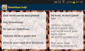 Screenshot of SinterklaasHulp