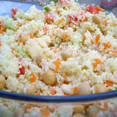 Couscous-Garbanzo Salad