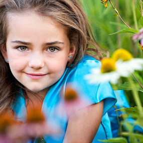 Garden Princess by Melissa Papaj - Babies & Children Child Portraits ( child, girl, female, daughter, garden,  )