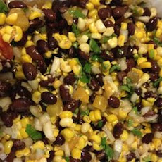 Spicy Bean and Corn Salsa Side