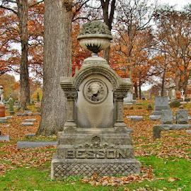by Yvonne Collins - City,  Street & Park  Cemeteries