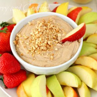 Peanut Butter and Maple Apple Dip