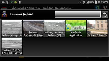 Screenshot of Cameras Indiana