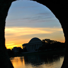 Thomas jefferson Memorial, Washington D.C, U.S.A by Muhammed Umair - Buildings & Architecture Statues & Monuments ( memorial )