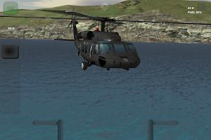 Screenshot of Black Hawk - Flight Simulator