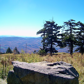 view from whitetop mountain by Delores Mills - Landscapes Mountains & Hills
