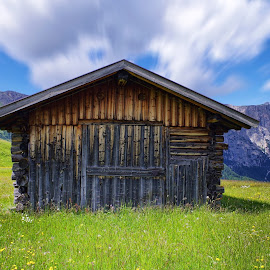 Mountain cabin IV by Stefano Landenna - Buildings & Architecture Decaying & Abandoned ( cabin, mountain, siusi, dolomites, house, italy )