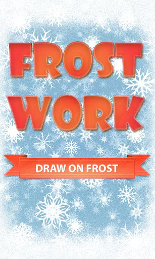 FrostWork : Drawings on Ice