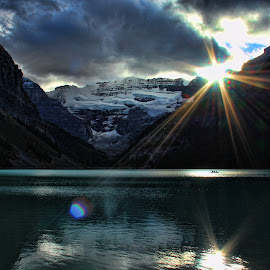 Lake Louise by Darlene Stewart - Landscapes Waterscapes ( lake louise )