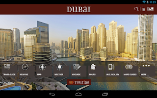 Screenshot of Dubai Travel Guide - Tourias