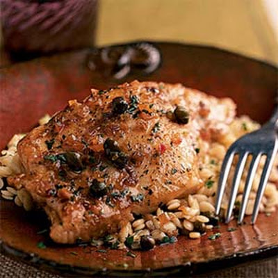 Mahimahi with Balsamic-Wine Sauce
