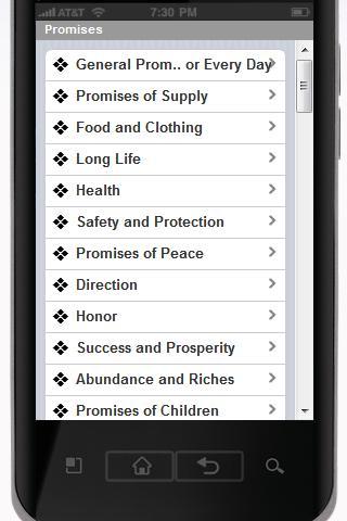 【免費書籍App】Promises of God for Today-APP點子