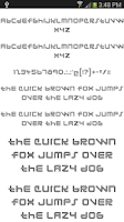 Screenshot of Fonts for FlipFont 50 #1