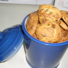 Low Fat Chocolate-Chips Cookies (Kosher-Dairy)