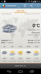 Weather & Clock Widget Ad Free - screenshot thumbnail