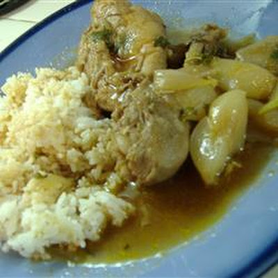 Greek Chicken Stew (Stifado)