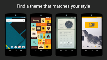 Screenshot of Themer: Launcher, HD Wallpaper