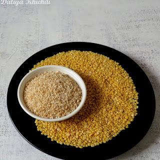 Vegetable Daliya Khichdi