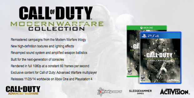 Does Activision have a Call Of Duty: Modern Warfare Collection heading to next-gen consoles?