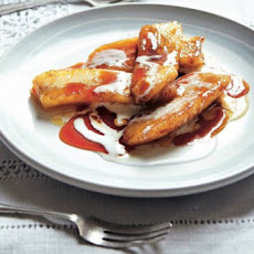 Pan-Fried Bananas with Brandy Recipe