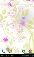 Screenshot of Flowers Live Wallpaper PRO