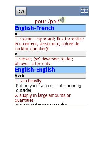 免費下載書籍APP|English French Dictionary Free app開箱文|APP開箱王