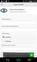 Screenshot of Voyance gratuite pour de vrai