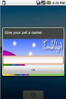 Screenshot of TamaWidget Dog