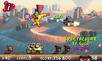 Screenshot of Free Zombie Hero