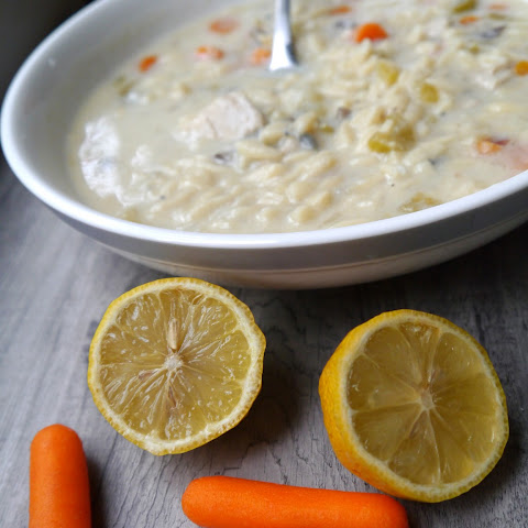Greek Lemon Chicken Soup.... for the soul