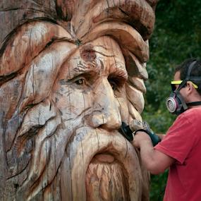 Master in wood by Dejan Gavrilovic - People Professional People ( wood work artist )