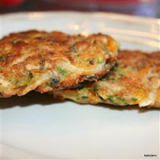 Vegetable and Feta Latkes