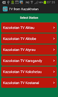 Screenshot of TV from Kazakhstan