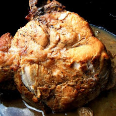 Pork Roast - Old Fashion Way (Use Cast Iron Dutch Oven)