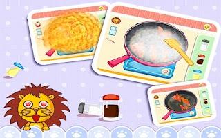 Screenshot of My Baby Chef by BabyBus