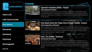 Screenshot of Eurochannel European Movies TV
