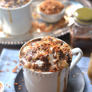 Skinny Samoa Hot Chocolate