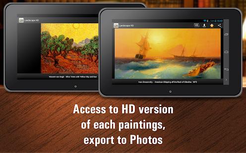 App Landscape painting HD apk for kindle fire Download