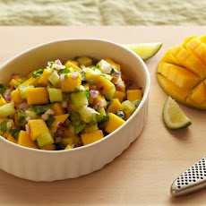 Mango and Jicama Salsa