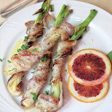 Bacon-Wrapped Scallions
