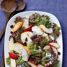 Crispy Chicken and Apple Salad