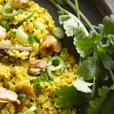 Indian-spiced Cauliflower Rice