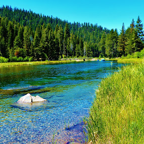The Truckee by Samantha Linn - Landscapes Waterscapes (  )